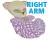 Cream Furry Baby R