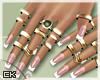 K  Zara Nails + Rings