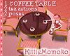 DOLL Sweet Pink Tea Table 1