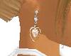 ~CA~Pink Heart Earrings