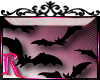 *R* Vampire Bats Sticker