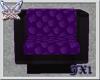 Box Chair blk purp