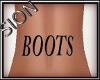 SIO- BOOTS Back Tatt