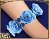 Right Blue Rose Bracelet