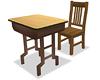 School Desk & Chair (II)