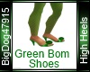 [BD] Green Bom Shoes