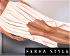 ~F~Lenka Skirt White