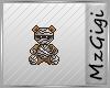 Mummy Teddy Bear Badge