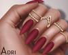 ~A: Wine Color Nails