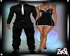 Black White Date Dress