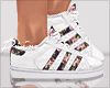 Floral Superstar White