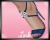 [L] Blue Diamond Heels