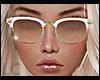 LC White Gold Glasses
