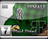[BE]GreenPlaid|FittedF
