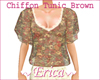 Chiffon Tunic v2 Brown