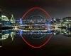 *wc * newcastle at night