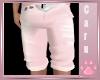 *C* Pink Jean Shorts