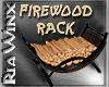 Wx:Mill Mtn FirewoodRack