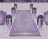 Wedding Purple Carpet