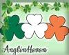 *A* Irish Clover Flag