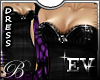 EV Boudoir Dress Purple