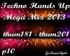 Techno Mega Mix 10/18