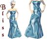 Satin Sky Gown
