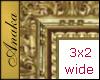 3x2 EZ FLOATING Frame (for walls without nodes; uses floor node)