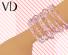 *VD* Pink&Light Bangle R