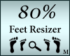 Foot Shoe Scaler 80%