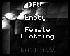 s|s Empty Female Clth.