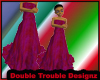|DT|REDPINK FORMAL DRESS