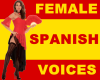 Spanish Female Voices