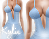 RLL Blue Bodysuit