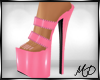 Feisty Mules Pink