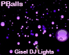 DJ Light Purple StarBall