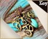 (Key)Silk ribbon bohem