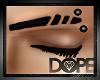 |:D| Eyebrow Studs L.blk