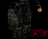 Black camoflauge pants