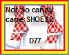 Not so Candy Cane shoes