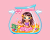 437Kawaii Aquarium Girl