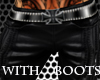 Iron Cross Pants w/Boots