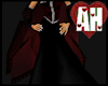 [AH] Red and Black Shawl