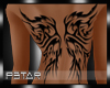 Back tattoo wings |P