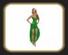 Green Candy dress