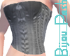 Favor Corset in Silver