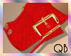 Q~Luz Boots Red