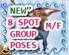 """""""NEW"""" 8 POSES GROUP POSE"""