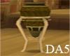(A) Wood Tudor Vase