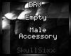s|s Empty Male Acc.